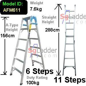 6-11 Step 2-Way Combination Lader