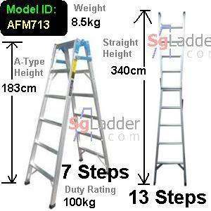 7-13 Step 2-Way Combination Lader