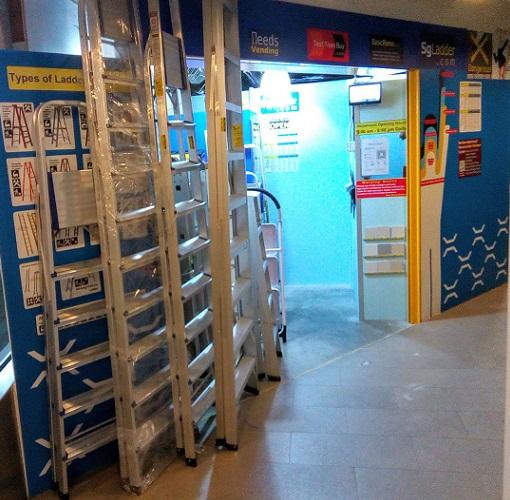 Singapore Ladder Showroom Location